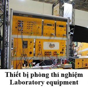 II. Thiết bị phòng thí nghiệm
