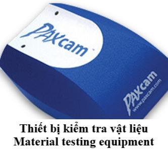III. Material testing equipment